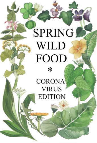 Spring Wild Food booklet, Coronavirus edition
